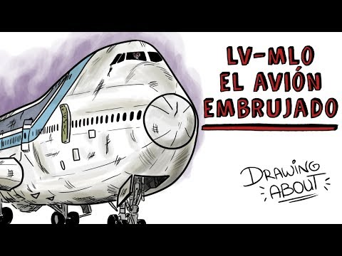 LV-MLO, LA Hª DEL AVIÓN EMBRUJADO | Draw My Life