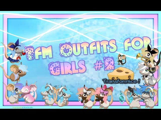 Transfromice: Transformice girls outfits | GamerHow | Gamers