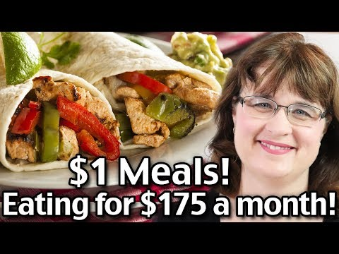 1 Dollar Meals - Easy Family Meals For $175 This Month!