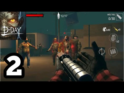 Zombie Hunter D-Day Gameplay walkthrough (Andoid/ios) part-2