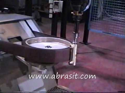 Bath Fixtures Faucet Thermostatic Brass Casting Belt Polishing Robot Youtube