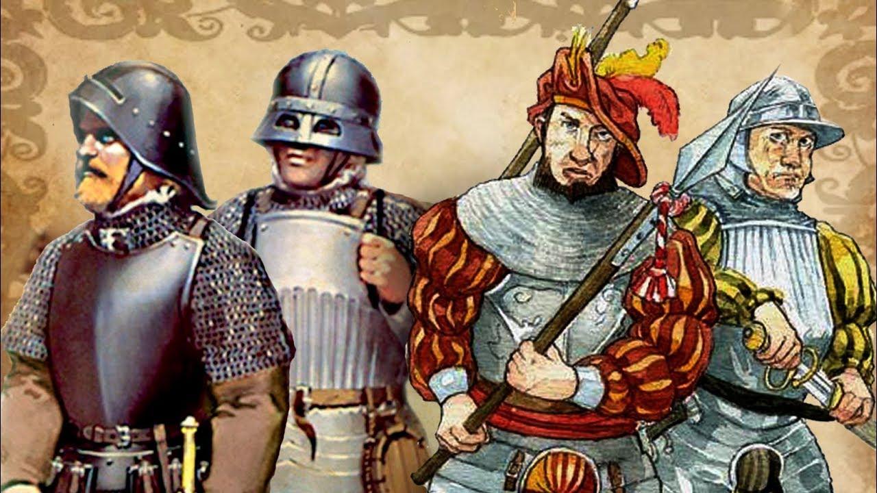 1ad339588a008 Gustav Vasa - Swedish Militia   German Landsknechts (16th century warfare)