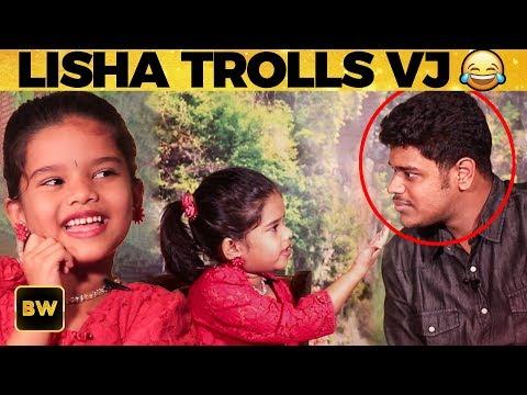ULTIMATE: Zee Tamil Lisha ROASTS VJ - Exclusive Interview   Yaradi Nee Mohini