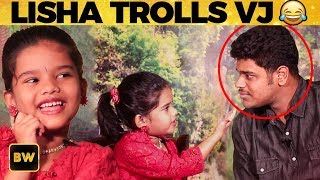 ULTIMATE: Zee Tamil Lisha ROASTS VJ - Exclusive Interview | Yaradi Nee Mohini | SS57