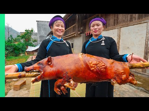 The SECRET FOODS of Vietnam's Tay Tribe!!! Rare Village Cooking!!   TRIBAL VIETNAM EP8