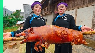 The SECRET FOODS of Vietnam's Tay Tribe!!! Rare Village Cooking!! | TRIBAL VIETNAM EP8