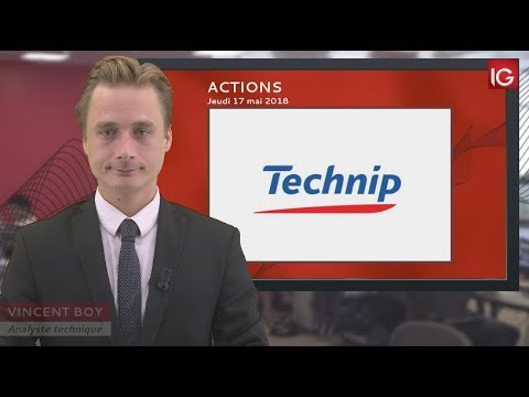 Bourse - Action TechnipFMC, Morgan Stanley en soutien - IG 17.05.2018
