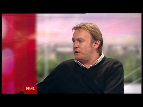 Philip Glenister - BBC Breakfast Interview (8th June, 2009) - YouTube