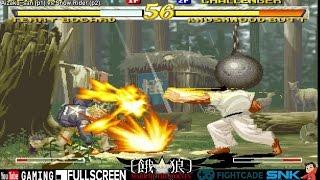 Aizaku_san (USA) vs. Snow Rider (Spain) - Garou: Mark of the Wolves Online Casuals