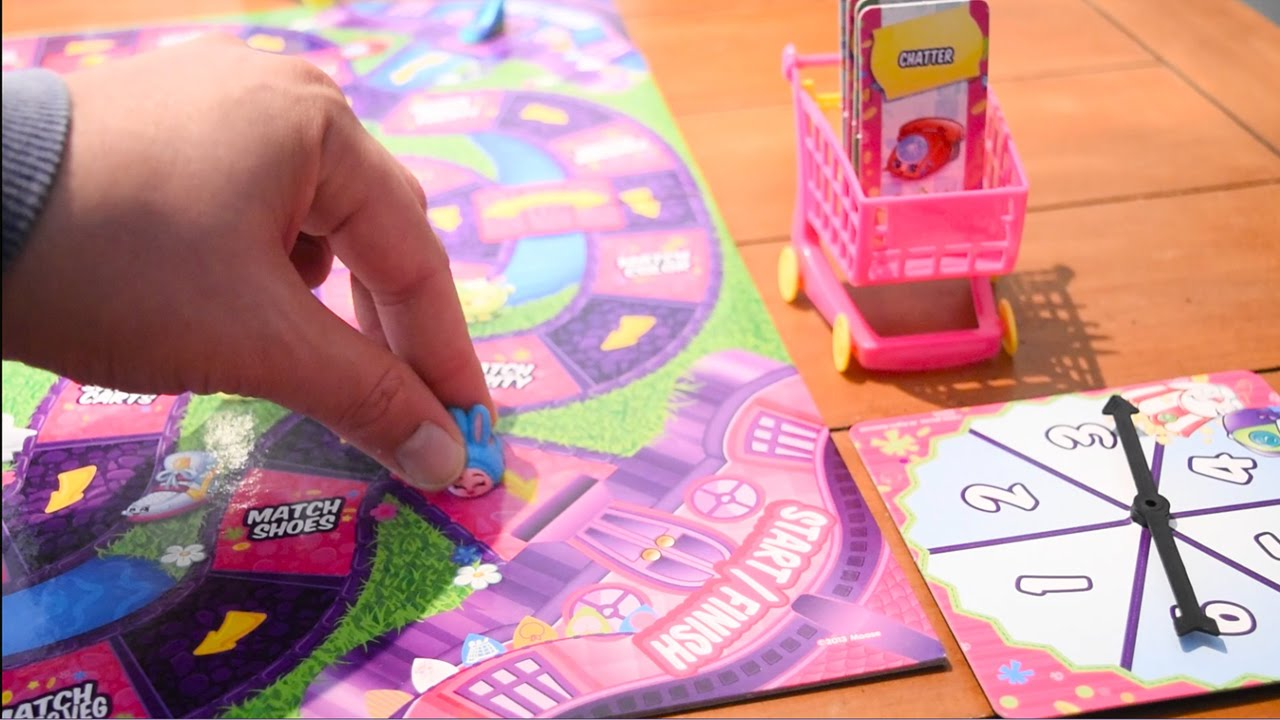 HOW TO PLAY SHOPKINS SHOPPING CART SPRINT