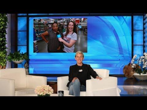 Ellen Sends a Fan on a Walmart Scavenger Hunt