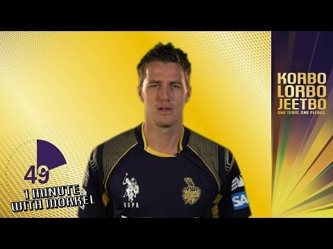 1 Minute With: MORNE MORKEL