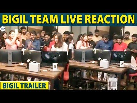 bigil-trailer-:-atlee-and-archana-kalpathi's-live-reaction-for-the-trailer-|-vijay-|-littletalks