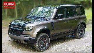 новый Land Rover Defender (2020): все подробности и цены