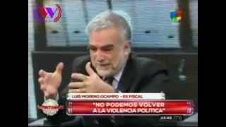 "Luis Moreno Ocampo Nisman,  la SIDE,  Stiusso y  ""la marcha"""