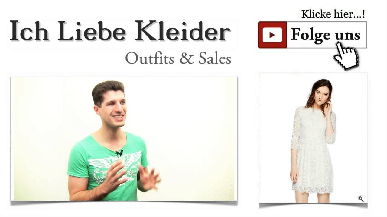 weiße spitzen kleider mit transparenten Ärmeln + outfit ideen