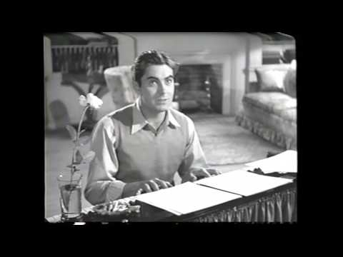 Tyrone Power singing