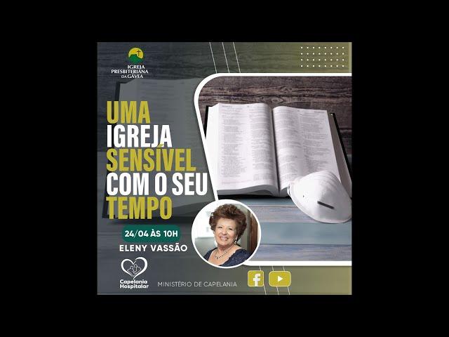 Encontro Virtual de Capelania com Eleny Vassão - 24-04-2021 - 10h