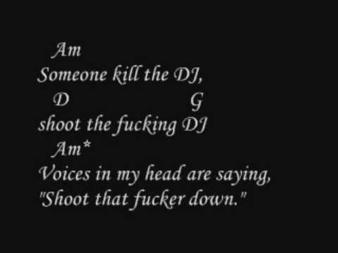 Green Day - ¡Uno! - Kill The DJ Lyrics And Chords