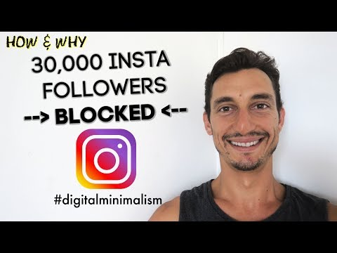 HOW TO REMOVE GHOST & BOT FOLLOWERS ON INSTAGRAM ✅ | digital minimalism