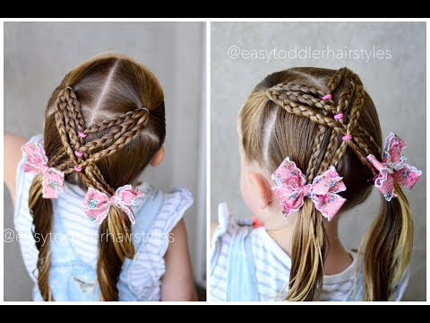 Braided X Pigtail Hairstyle