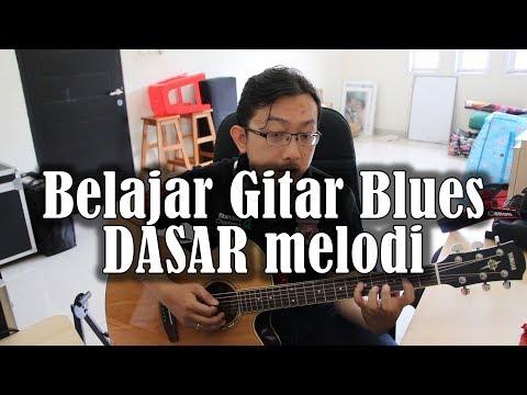 Belajar Gitar Blues - Melodi dasar blues