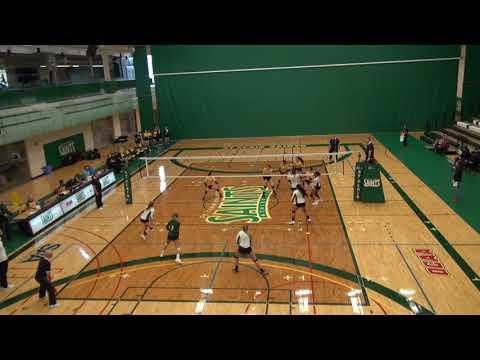 St  Clair Saints Women's Volleyball  First Half Highlights 20172018