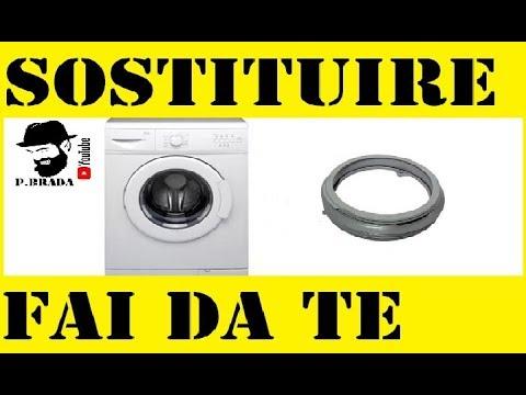 Cambiare la guarnizione della lavatrice By Paolo Brada DIY - YouTube