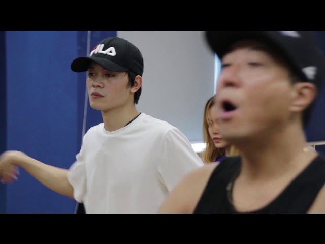 ICA - Dance class with Mr Lee Myeong Seok