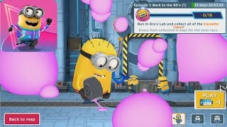 Despicable Me: Minion Rush - Go back to the 80's Gameplay Walkthrough part 17 (iOS, Android)