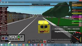 Roblox op de ambulance