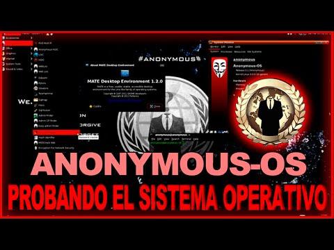 Probando El Sistema Operativo ANONYMOUS-OS