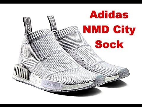 Adidas Nmd For Sale Mens CS2 City Sock PK Black Pink Sale