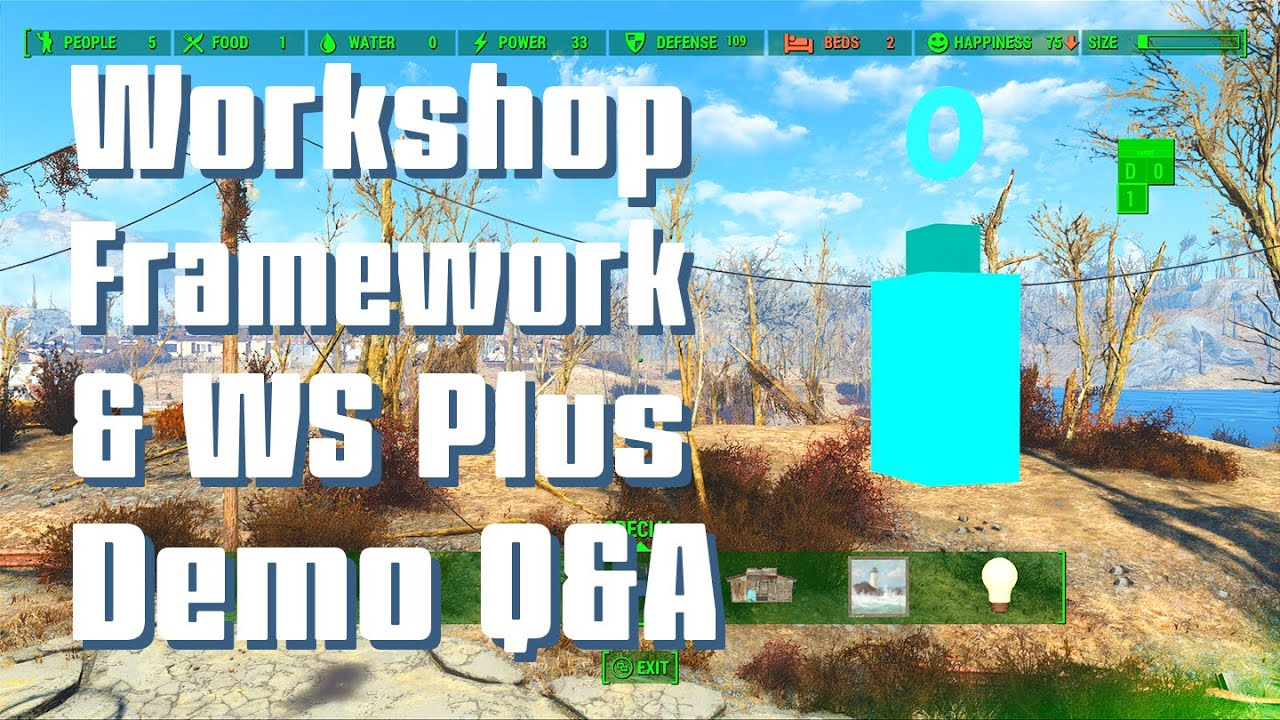 Workshop Framework at Fallout 4 Nexus - Mods and community