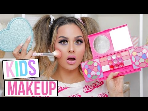 Thumbnail: FULL FACE USING ONLY KIDS MAKEUP TUTORIAL