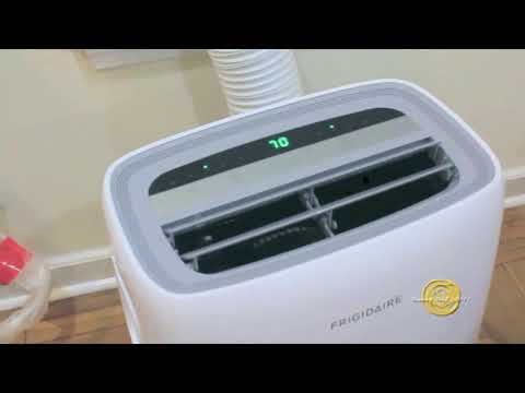 How To Set Up Frigidaire Portable Air Conditioner And Attach To Horizontally Sliding Window.