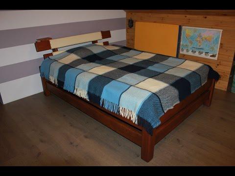 Кровать своими руками. 1/3 Wooden bed.