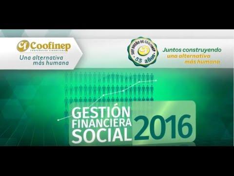 COOFINEP - Gestión Financiera y Social 2016