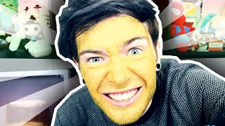 PAINTING MY FACE GOLD!!