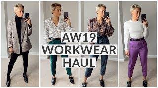 AUTUMN/ WINTER WORK WEAR HAUL, TOPSHOP, ASOS, H&M, M&S | Olivia Rose Smith