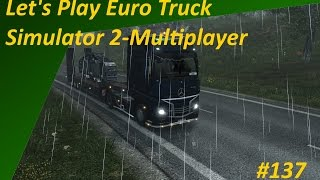 Let's Play Euro Truck Simulator 2-Multiplayer #137 - VoIP-Chat im ETS2