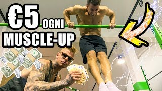 REGALO 5 EURO per ogni MUSCLE UP!