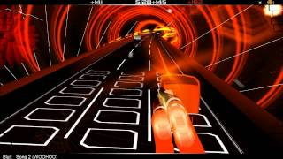Audiosurf / Gameplay PC HD / Blur: Song 2 (WOOHOO)