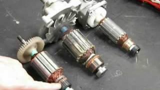 Réparation d'outils électroportatifs : le moteur