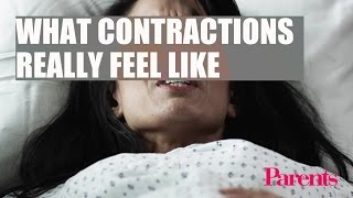 What Contractions Really Feel Like | Parents
