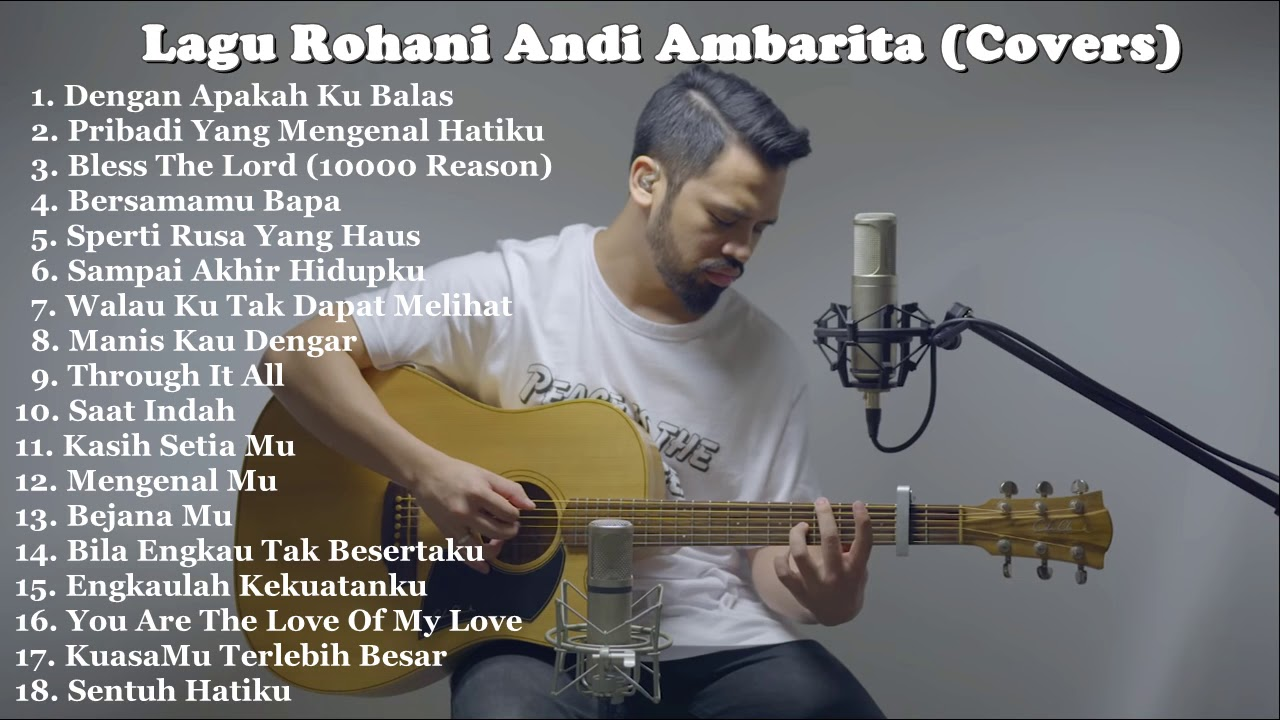 Playlist Lagu Rohani Cover Full by Andi Ambarita Terbaru
