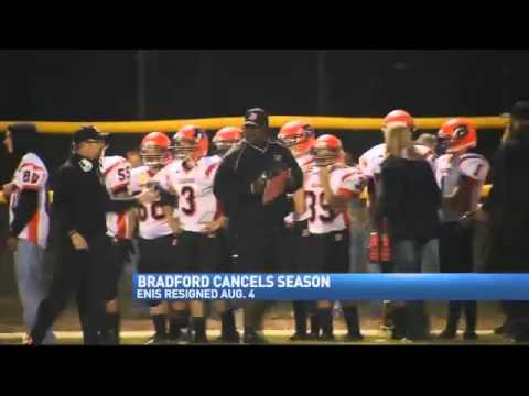 Bradford Cancels Varsity Football Season