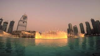 Dubai Fountain Show | GoPro Hero 4 Black