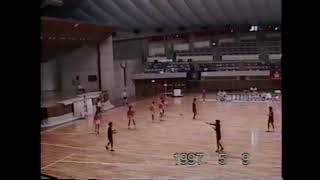 1997年東北学生ハンドボール(春季) 東北学院大(30) vs 岩手大(18)
