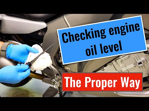 Checking Engine Oil Level Properly